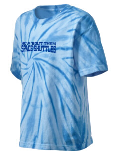 Endeavor Intermediate School Space Shuttles Kid's Tie-Dye T-Shirt