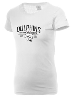 Saint Anthony Immaculate Conception Dolphins  Russell Women's Campus T-Shirt
