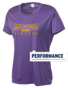 Good Shepherd School Blazers Women's Competitor Performance T-Shirt