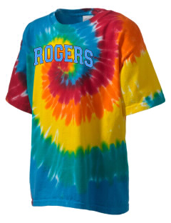 Rogers High School Rams Kid's Tie-Dye T-Shirt