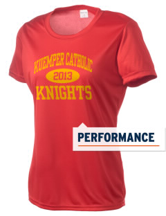 Kuemper Catholic High School Knights Women's Competitor Performance T-Shirt