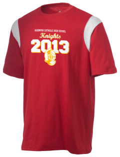 Kuemper Catholic High School Knights Holloway Men's Rush T-Shirt