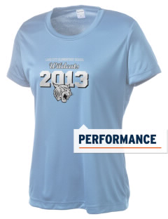 Lake City Elementary School Wildcats Women's Competitor Performance T-Shirt