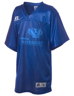 Meadowdale High School Mavericks Russell Kid's Replica Football Jersey