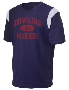 Dowling Catholic High School Maroons Holloway Men's Rush T-Shirt