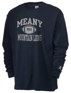Meany Middle School Jaguars  Russell Men's Long Sleeve T-Shirt