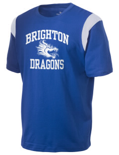 Brighton Elementary School Dragons Holloway Men's Rush T-Shirt