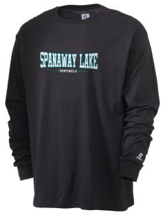 Spanaway Lake High School Sentinels  Russell Men's Long Sleeve T-Shirt