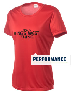 King's West School Warriors Women's Competitor Performance T-Shirt