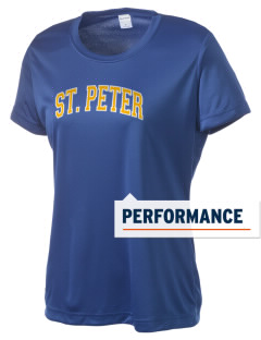 Saint Peter School Chargers Women's Competitor Performance T-Shirt