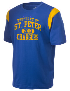 Saint Peter School Chargers Holloway Men's Rush T-Shirt