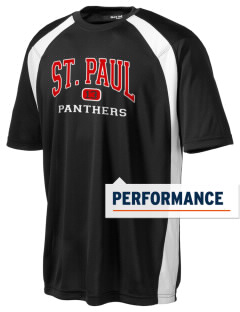 Saint Paul School Panthers Men's Dry Zone Colorblock T-Shirt