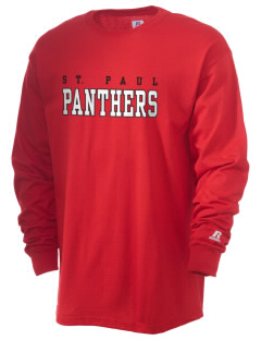 Saint Paul School Panthers  Russell Men's Long Sleeve T-Shirt
