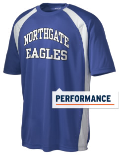 Northgate Elementary School Eagles Men's Dry Zone Colorblock T-Shirt