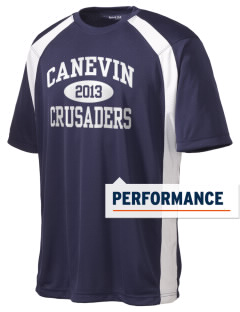 Canevin Catholic High School Crusaders Men's Dry Zone Colorblock T-Shirt