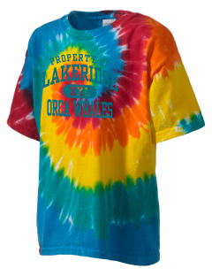 Lakeridge Elementary School Orca Whales Kid's Tie-Dye T-Shirt