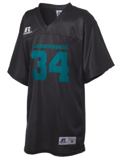 Lakeridge Elementary School Orca Whales Russell Kid's Replica Football Jersey