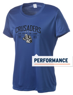 Saint Rose Of Lima School Crusaders Women's Competitor Performance T-Shirt