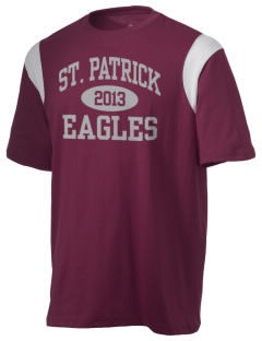 Saint Patrick Elementary School Eagles Holloway Men's Rush T-Shirt