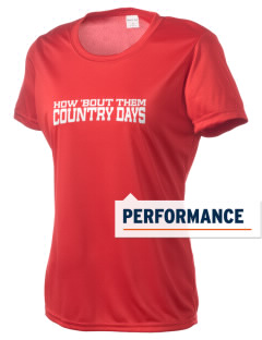 Sacred Heart Country Day School Country Days Women's Competitor Performance T-Shirt