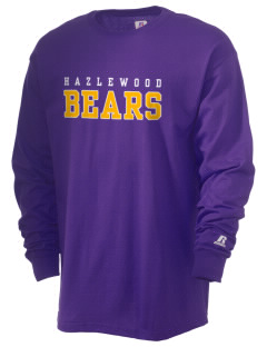 Hazlewood Elementary School Bears  Russell Men's Long Sleeve T-Shirt