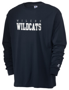 Wilcox Academy Wildcats  Russell Men's Long Sleeve T-Shirt