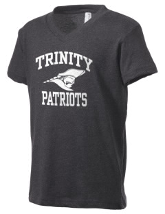 Trinity School Patriots Kid's V-Neck Jersey T-Shirt