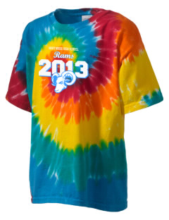 Northside High School Rams Kid's Tie-Dye T-Shirt