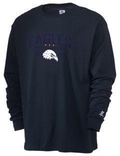 Deerfield Christian Academy Eagles  Russell Men's Long Sleeve T-Shirt