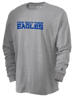 Victory Baptist Academy Eagles  Russell Men's Long Sleeve T-Shirt