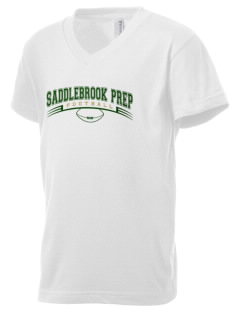 Saddlebrook Academy Spartans Kid's V-Neck Jersey T-Shirt