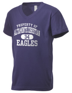 Altamonte Christian School Eagles Kid's V-Neck Jersey T-Shirt