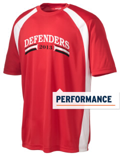 Community Christian Academy Defenders Men's Dry Zone Colorblock T-Shirt