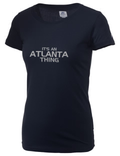 Atlanta Adventist Academy Aardvarks  Russell Women's Campus T-Shirt