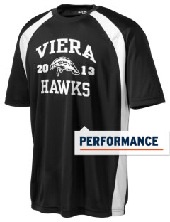 Viera High School Hawks Men's Dry Zone Colorblock T-Shirt