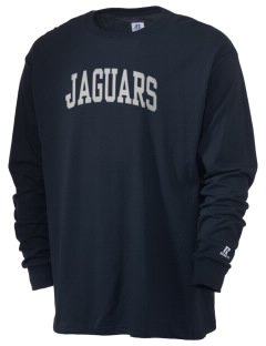 Robert Fulton College Preparatory Jaguars  Russell Men's Long Sleeve T-Shirt