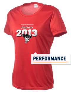 Prince Of Peace Lutheran School Patriots Women's Competitor Performance T-Shirt