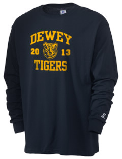 Dewey Elementary School Tigers  Russell Men's Long Sleeve T-Shirt