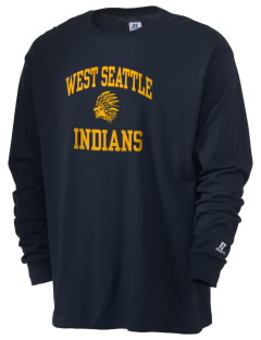 West Seattle High School Indians  Russell Men's Long Sleeve T-Shirt