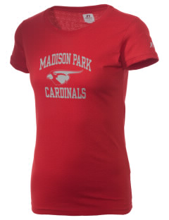 Madison Park Technical Vocational High School Cardinals  Russell Women's Campus T-Shirt