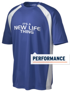 New Life Academy Eagles Men's Dry Zone Colorblock T-Shirt