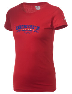 Shoreline Christian School Crusaders  Russell Women's Campus T-Shirt