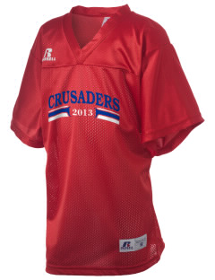 Shoreline Christian School Crusaders Russell Kid's Replica Football Jersey