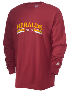 Whittier Christian High School Heralds  Russell Men's Long Sleeve T-Shirt