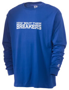 Beautiful Savior Lutheran School Breakers  Russell Men's Long Sleeve T-Shirt