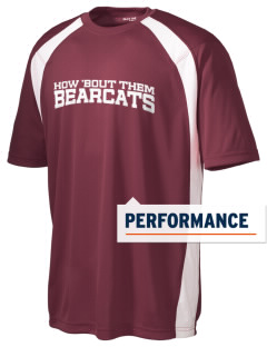 Hawley Middle School Bearcats Men's Dry Zone Colorblock T-Shirt