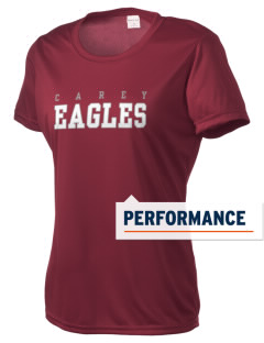 The Carey School Eagles Women's Competitor Performance T-Shirt