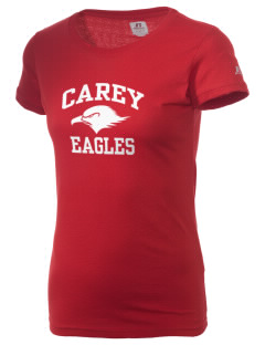 The Carey School Eagles  Russell Women's Campus T-Shirt
