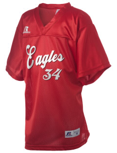 The Carey School Eagles Russell Kid's Replica Football Jersey