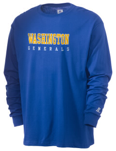 Washington School Generals  Russell Men's Long Sleeve T-Shirt